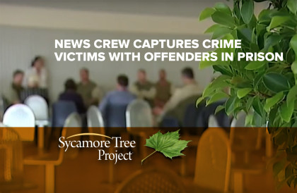 TV Crew captures crime victims in prison encounter